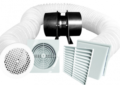 Bathroom extract fans